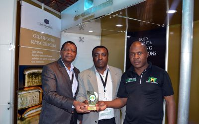 Fidelity Refiners attend the 22nd Edition of the Mine Entra Expo