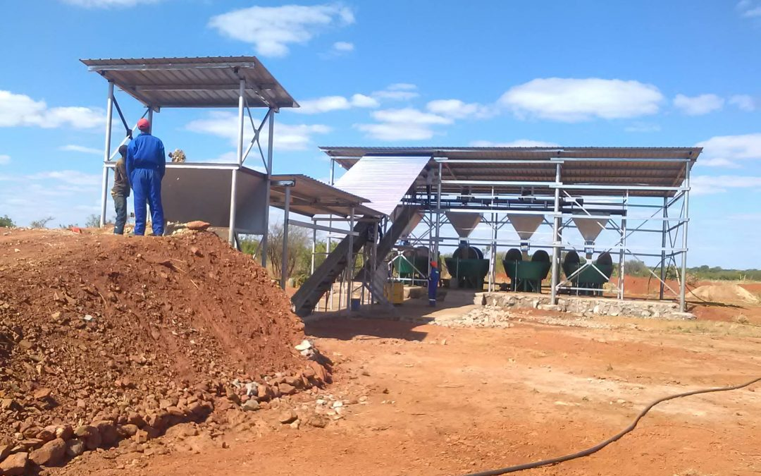 Wet Pan Milling plant commissioned in Chakari
